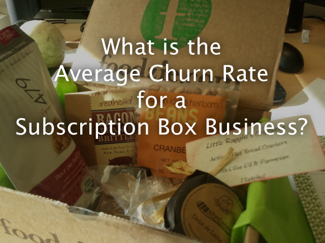 What is the Average Churn Rate for a Subscription Box Business?